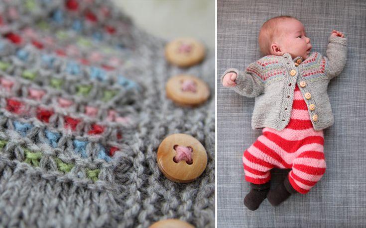 Liv laga babysett - Pickles Jakke i str nyfødt?