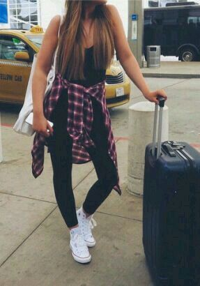An outfit to travel