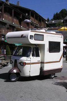 Autorickshaw mobile home.