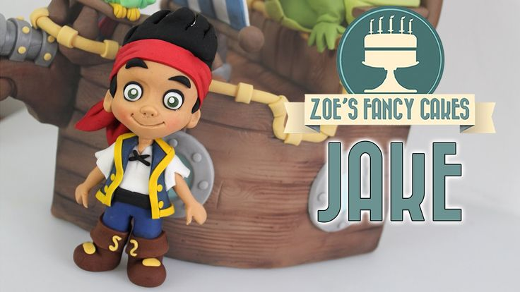 How to make a gum paste Jake cake topper from the Disney junior show Jake and the Never Land Pirates. In this cake modelling tutorial I show you how to make ...