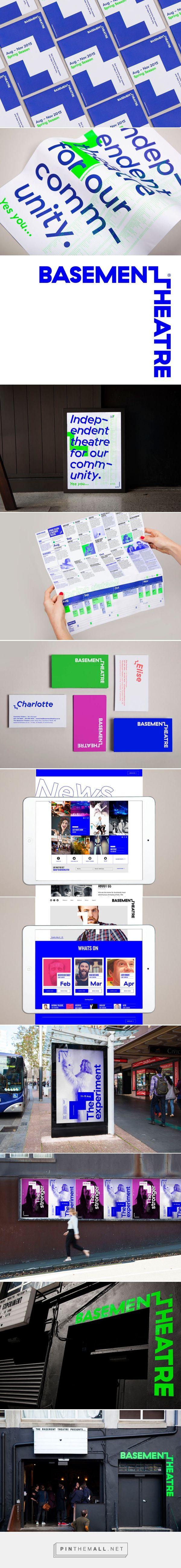 Basement Theatre | Identity Designed - created via http://pinthemall.net