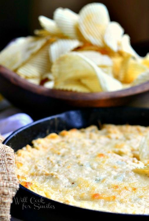 Spicy Chicken Ranch Dip | from willcookforsmiles.com #dip #chickendip #ranch