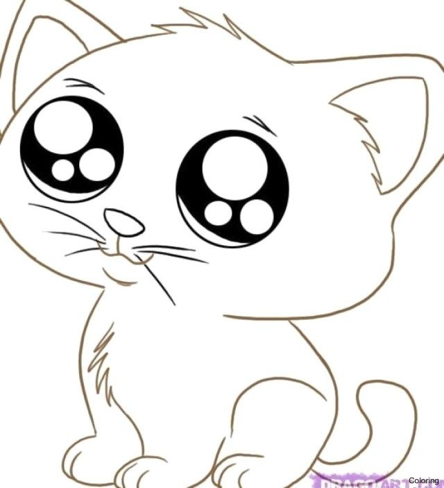 Exclusive Photo Of Kittens Coloring Pages Entitlementtrap Com Cartoon Cat Drawing Kitten Drawing Cat Eyes Drawing