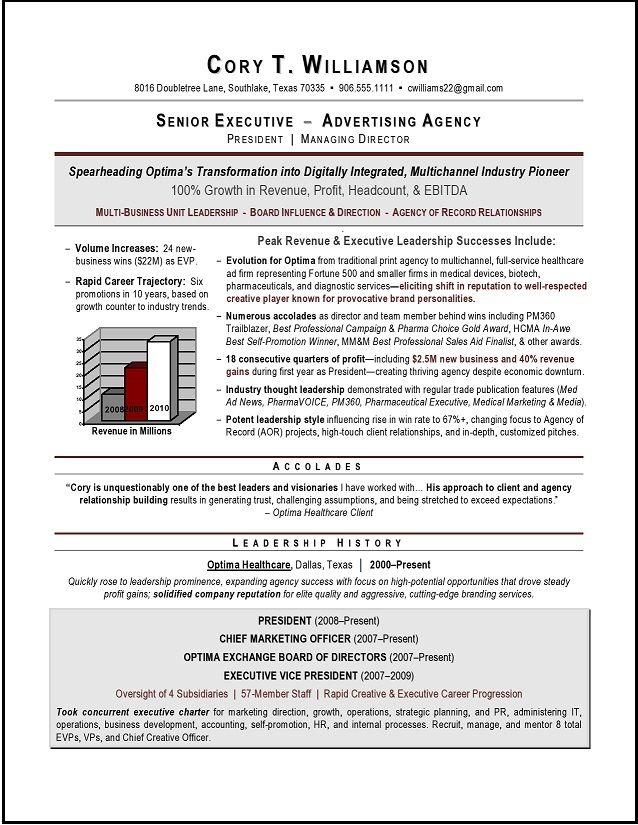 Cmo Sample Resume Award Winning Chief Marketing Officer Sample Resume Executive Resume Resume Writer Resume Examples