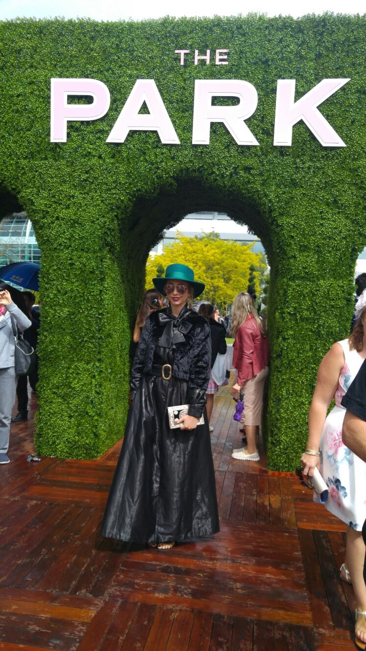 My races outfit to the Melbourne Cup! Designed and made by yours truly, this outfit was featured on the Myer Fashion Blog 2016.  #myer #melbourne #melbournecup #melbournefashion #black #denim