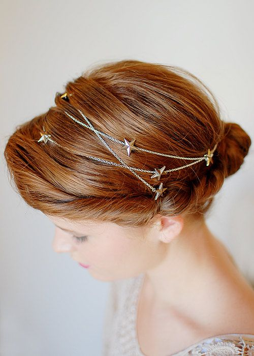 In case I want to do a star theme for the wedding: Style 4004  Twig and Sparrow star wraparound by twigandsparrowshop, $36.00