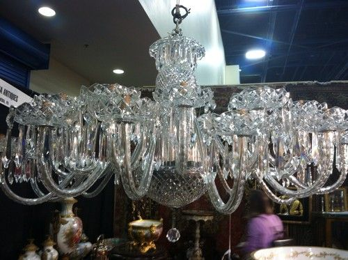 Rare Antique Signed Waterford Crystal 24 Arm Chandelier Mint Condition Over  5ft - 14 Best Waterford Crystal Images On Pinterest Waterford Crystal