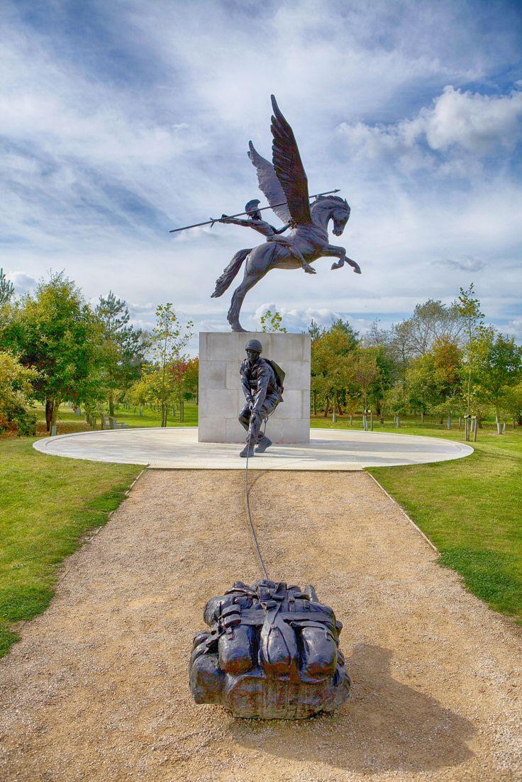 Parachute Regiment Memorial at the National Memorial Arboretum