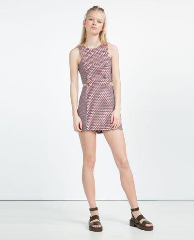 Image 1 de ROBE COMBINAISON FENTES de Zara