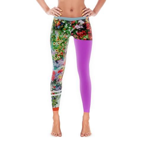 Colour Infected Leggings  Colourful Womens Leggings Launched by Rasberydays    #Leggings #DesignerClothing #Rasberydays #Yoga #Tights