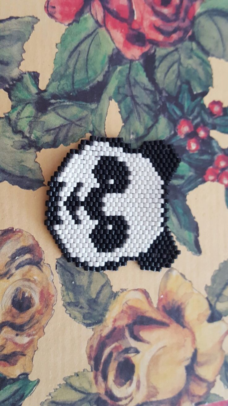 Panda brick stich