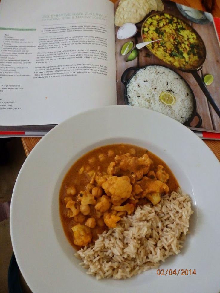 Zeleninové kari - Zdravě jíst