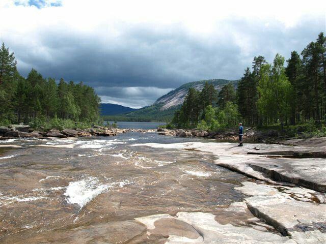 Skrede Mountain, Telemark Camping & Inn, Hauggrend Fyresdal, Norway