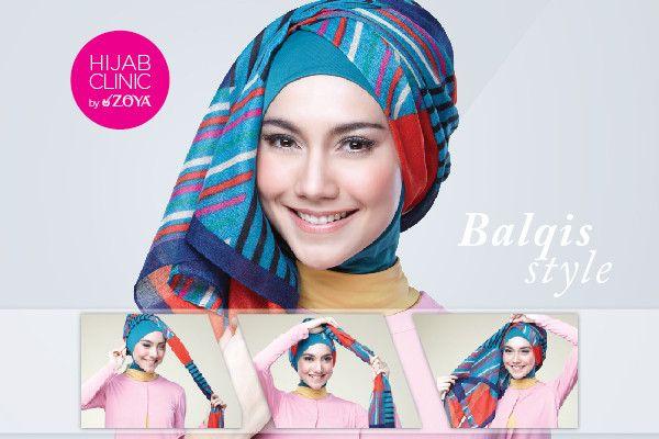 Kreasi Hijab Simple, Hanya 2 Jarum | Zoya - Lebih Pas Untuk Cantikmu