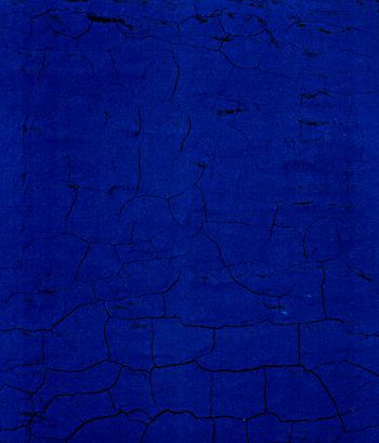 Yves Klein blue I love you