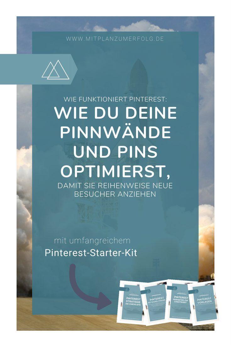Lerne, wie Du Deine Pinnwände und Pins in Pinterest optimierst - Teil 2 der kompletten Strategie, die Dir Traffic, Leads und Kunden bringt