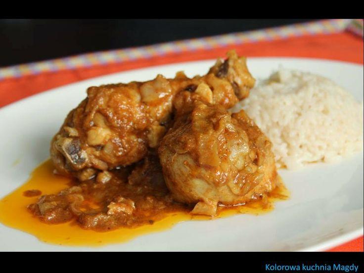 Kolorowa Kuchnia Magdy: Spicy Yogurt Chicken Curry