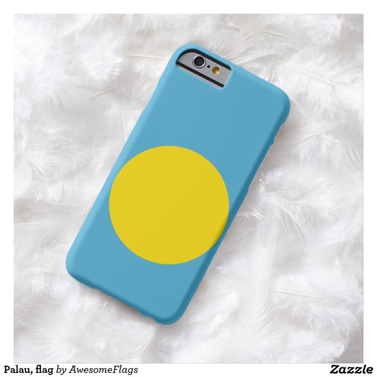 Palau, flag barely there iPhone 6 case