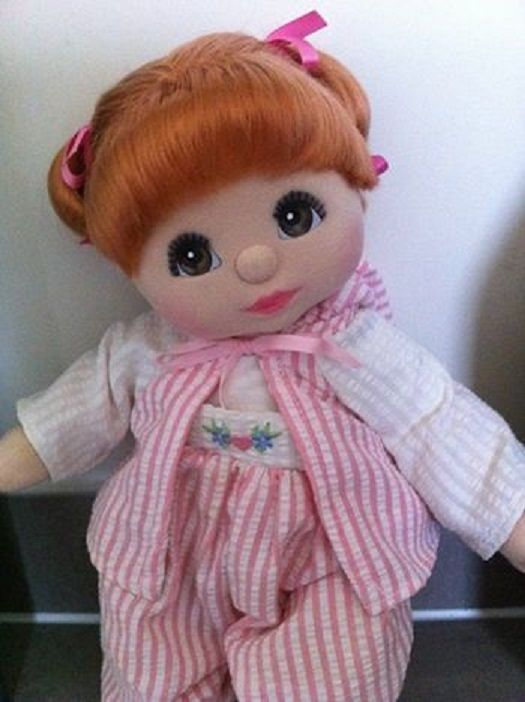 My Child Doll Red DR Brown Charcoal