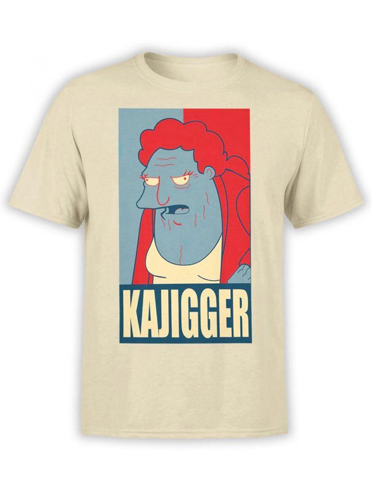 Futurama tshirt kajigger unisex cartoon shirts