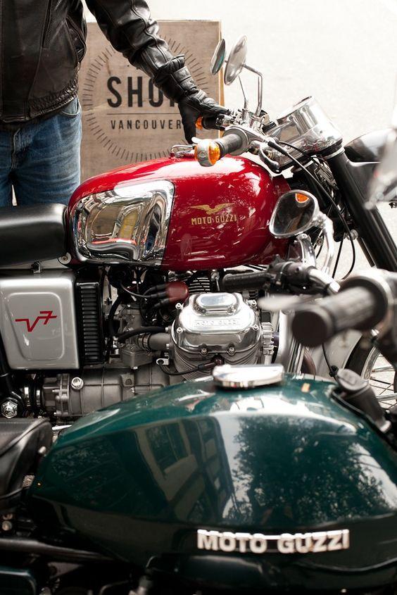 Moto guzzi #motorcycleculture #culturamotera | caferacerpasion.com