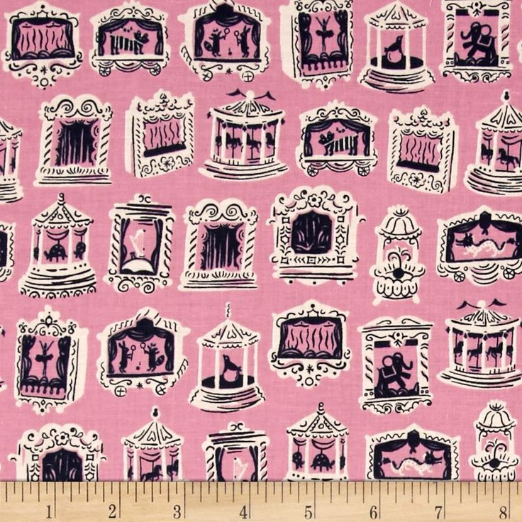 Cotton & Steel Penny Arcade Petunia from @fabricdotcom  Designed by Kimberly Kight for Cotton + Steel, this cotton print is perfect for quilting, apparel and home decor accents. Colors include pink and navy blue.