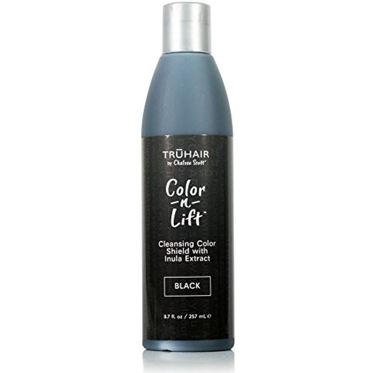 TRUHAIR Color 'N' Lift Cleansing Color Shield - Hair Color Shampoo that Protects Against Hair Color Loss - Black 8.7 fl.oz *** More info could be found at the image url. (This is an affiliate link and I receive a commission for the sales)