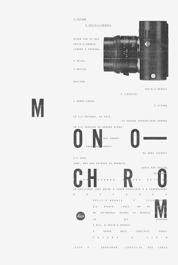 Leica M-Monochrom | Leica | Print | F/Nazca Saatchi & Saatchi