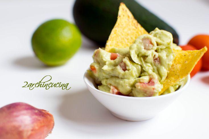 Salsa guacamole - Ricetta messicana Guacamole sauce Easy healty recipe