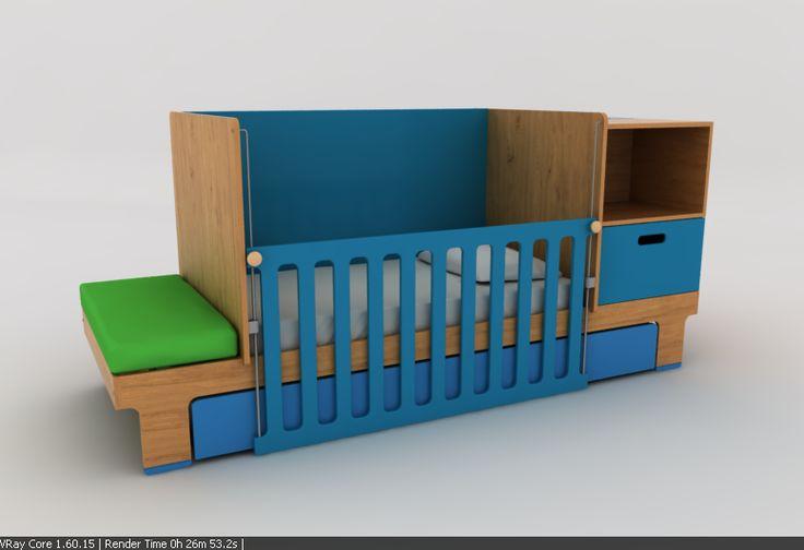 Cama Bas, baby bed