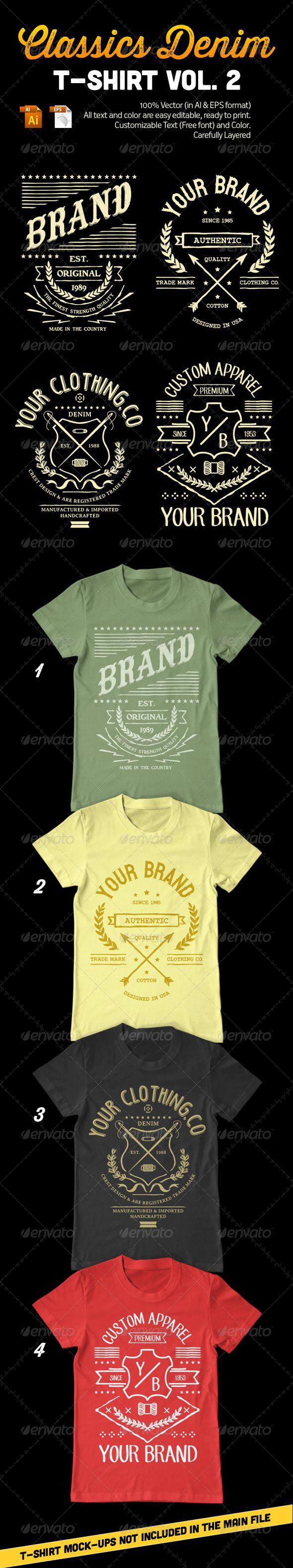 Classics Denim T-Shirt Vol. 2