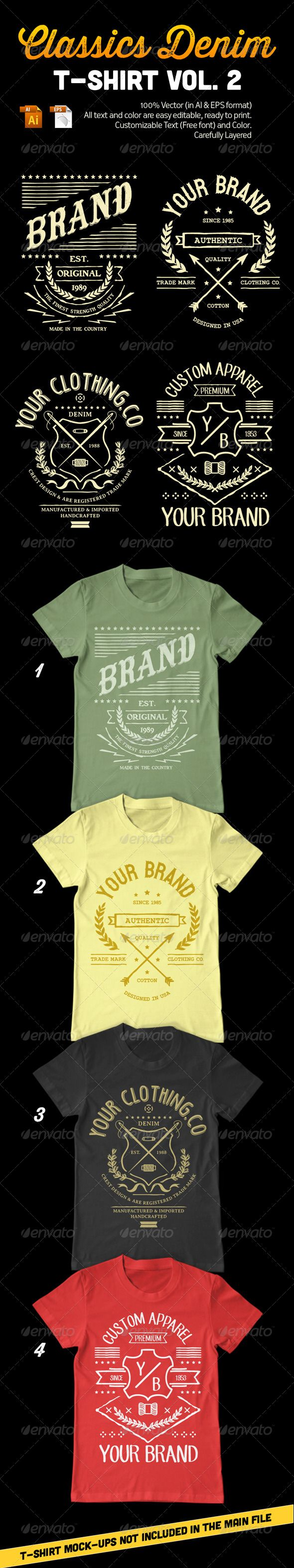Classics+Denim+T-Shirt+Vol.+2