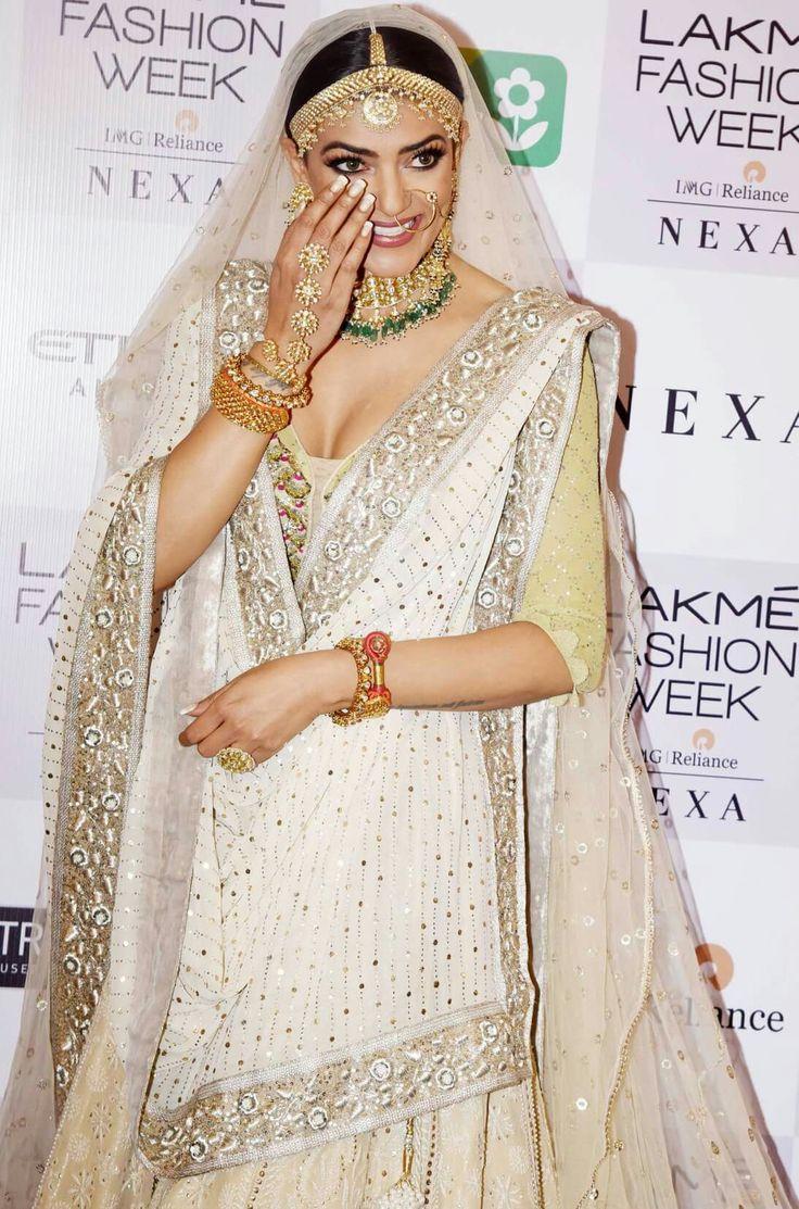 Bollywood actress Sushmita Sen at red carpet of LFW 2018