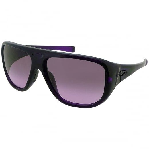 """Oakley Grape Juice """"Correspondent"""" Ladies Aviator Sunglasses With Gradient Lenses. Model Number: OO9094 04. A dash of colour combined with impressive Oakley lens technology helps to create the masterpiece that is the """"Correspondent""""."""
