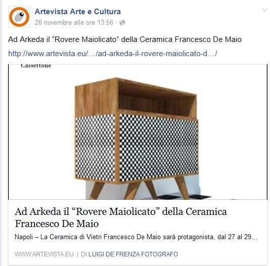 #roveremaiolicato | Ceramica Francesco De Maio