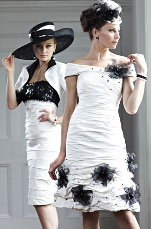 Ian Stuart Mother of the Bride 2013 another Black and White fabulous outfit here in stock at The Cotswold Frock Shop Stow on the Wold