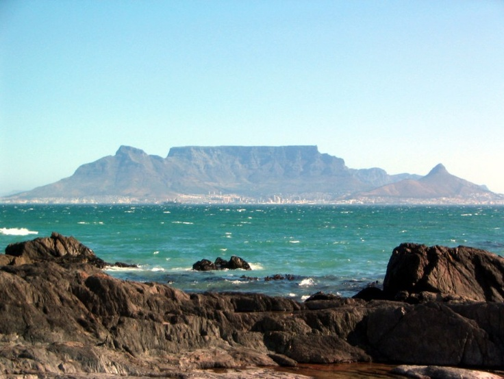 cape town, south africa - table mountain