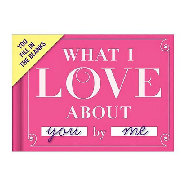 Create lovely personalised gifts instantly with these lovely journals for everyone! The What I Love About You journal is a sweet way to express your love and admiration for a friend or loved one.