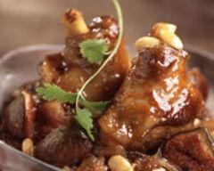 Souris d'agneau aux figues et aux amandes (facile, rapide) - Une recette CuisineAZ