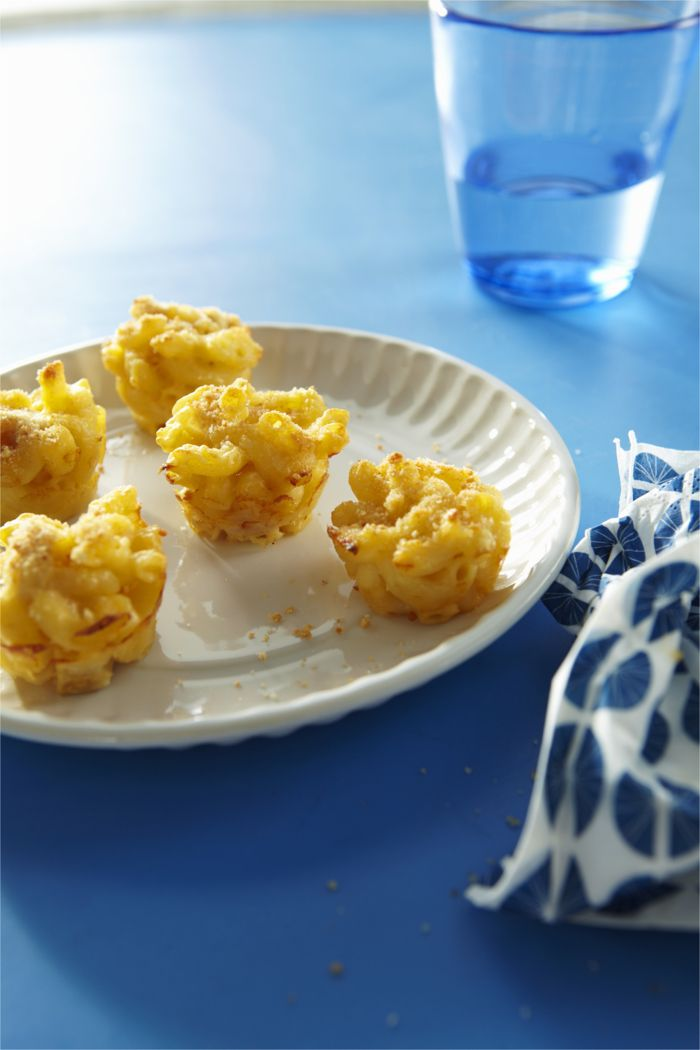 Mac Chicken and Cheese Bites from weelicious.com