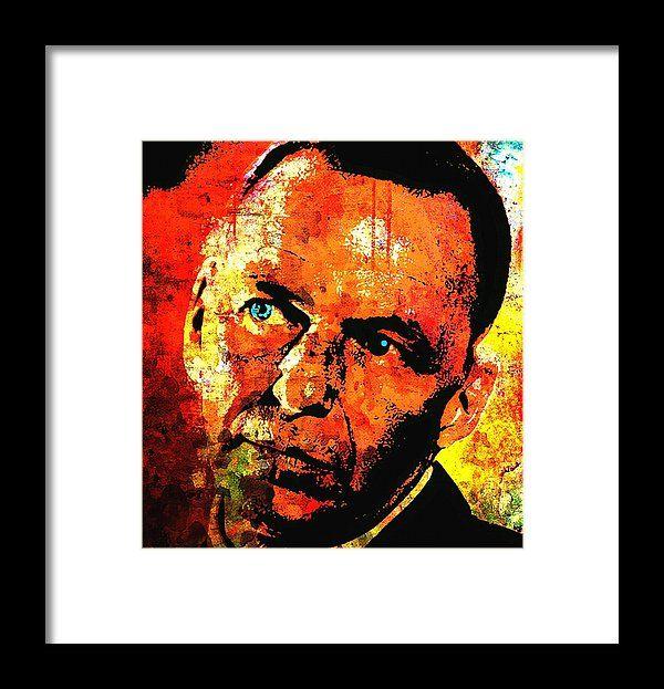 Frank Sinatra Framed Print by Otis Porritt | Fine art america and ...
