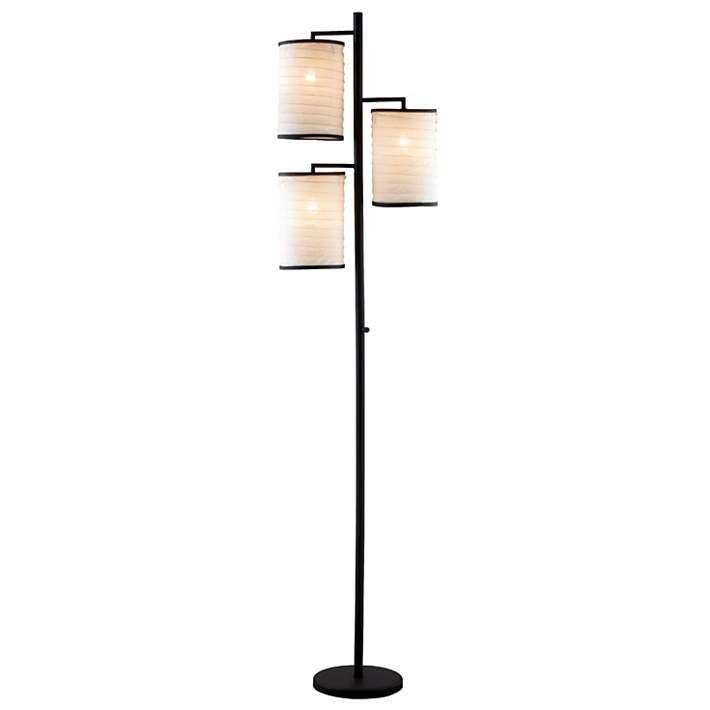 Bellows Three Lite Tree Floor Lamp - #01979   Lamps Plus