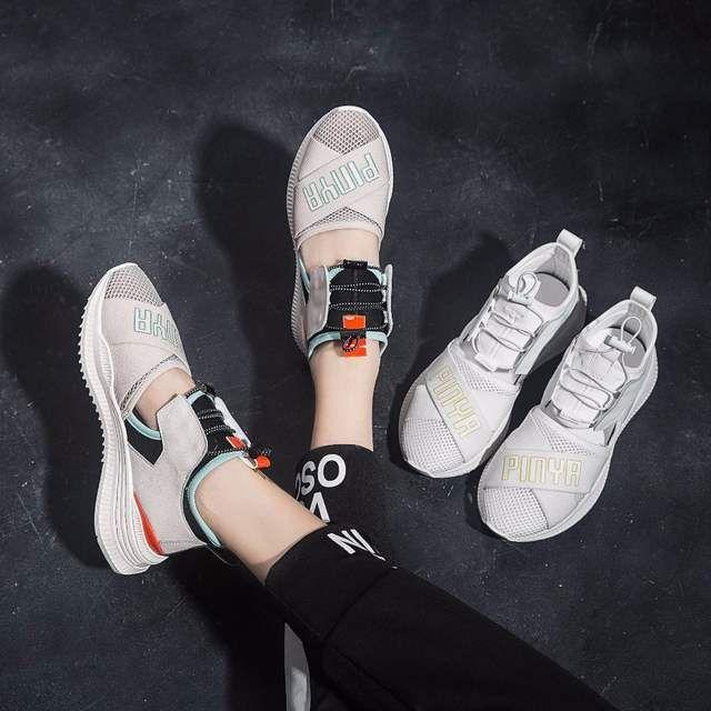Online Shop Jookrrix Rahat Ayakkabi Kadin Moda Marka Platformu Sneakers Lady Shoes Gercek Deri Yaz Kadin Ayakkabi Nefes Kiz Aliexpres Moda Ayakkabilar Kizlar
