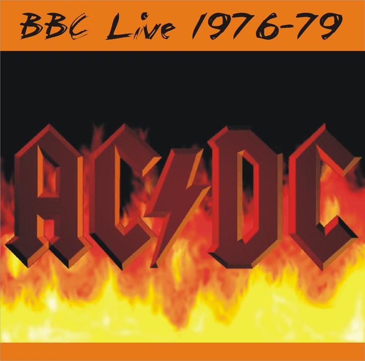 AC/DC - 1976 1977 1979 - BBC sessions | Album art (bootleg ...