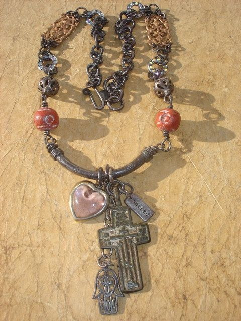 The Collector's Sacred Talisman - Primitive Tribal Bohemian Necklace