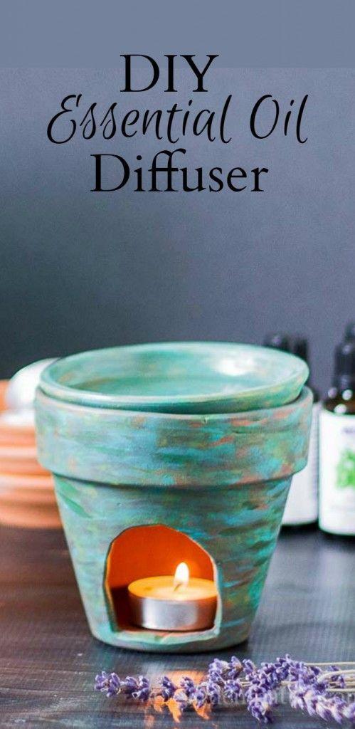DIY Essential Oil Diffuser ~ gardenmatter.com