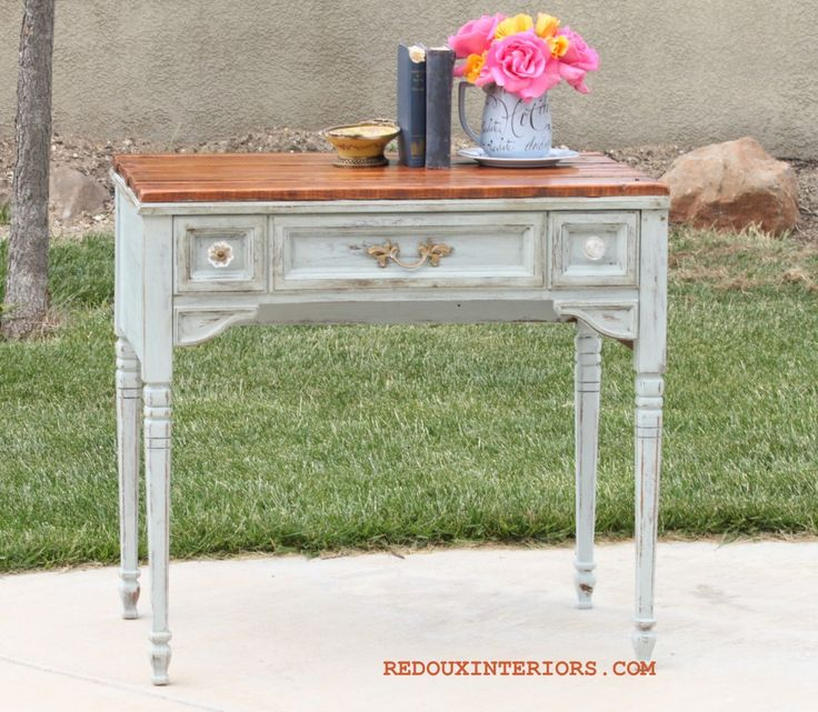 can you believe this stunning table was updated with parts from a dumpster read all