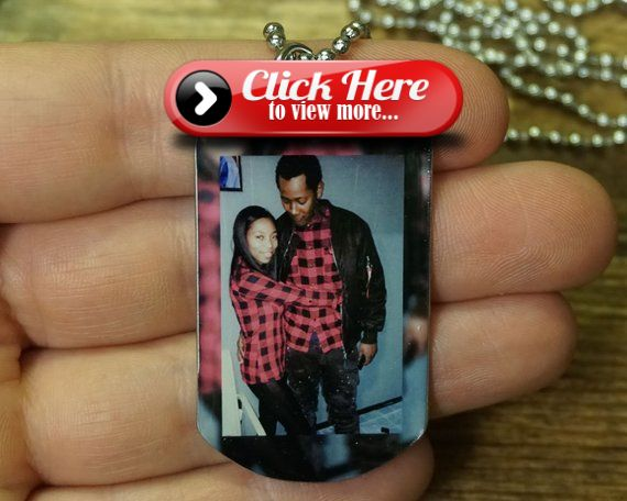 Gift For Boyfriend  Photo Necklace FREE SHIPPING  Gift For BF Gift For Him Gift For Couples Pe