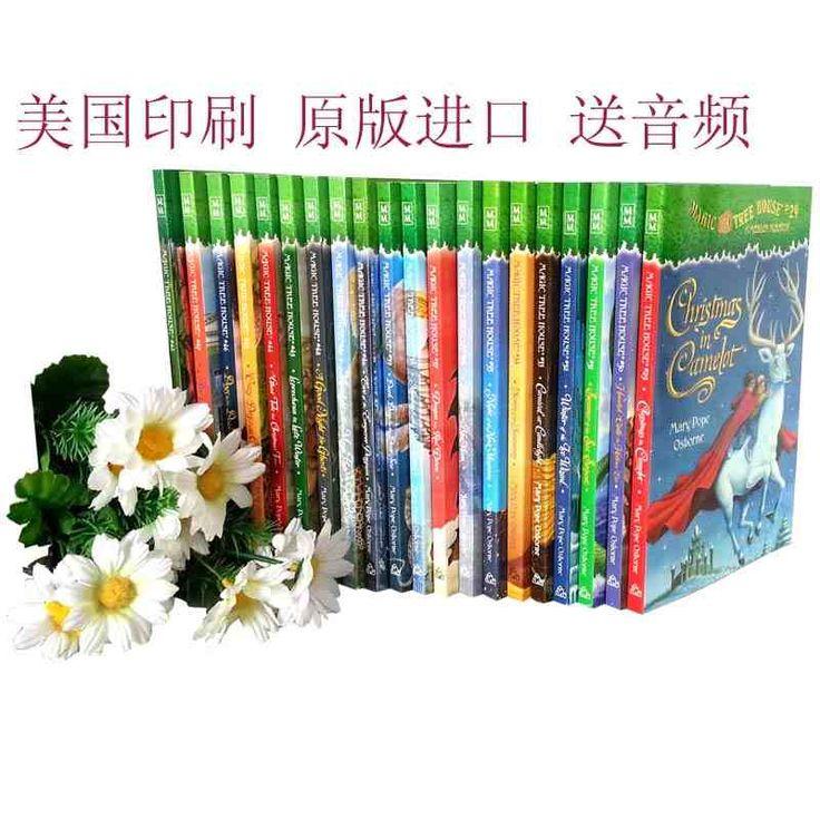 英文原版Magic Tree House 29-49全套 神奇树屋1-28续集 美国进口-tmall.com天猫