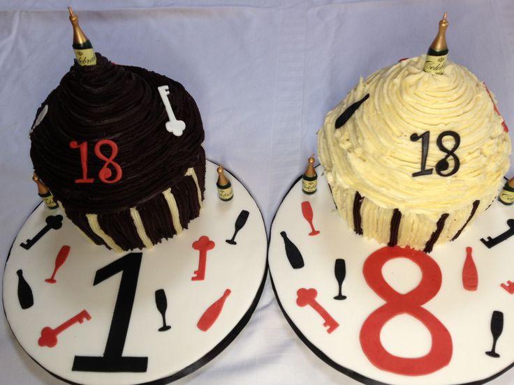 18th Birthday- Celebration cupcakes